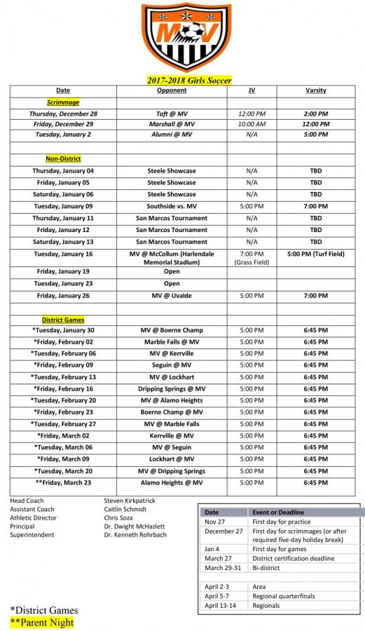Soccer Season is Kicking off for the Girls this December