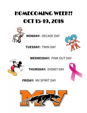 MVHS Dress Up Week