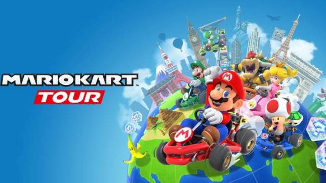 Mario Kart Tour drives its way into top charts. Picture Creds: Metro News