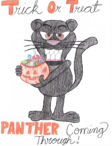 Trick or Treat Panther