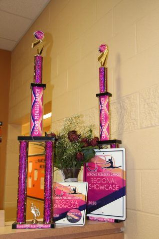 The team brought back two trophies, which are now on display in the school's main office, as well as being invited to Macy's Thanksgiving Parade and Citrus Bowl.